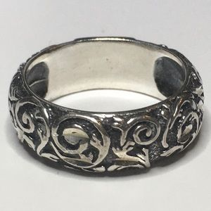 Carolyn Pollack Sterling Silver Ring Sz 7 1/2